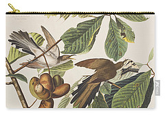 Yellow Billed Cuckoo Carry-all Pouch by John James Audubon