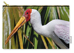 Yellow-billed Stork Carry-all Pouch