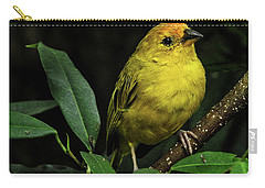 Yellow Bird Carry-all Pouch