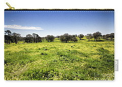 Carry-all Pouch featuring the photograph Yellow Blanket by Douglas Barnard
