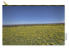 Yellow Blanket II Carry-all Pouch by Douglas Barnard