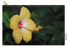 Yellow Bloom Carry-all Pouch