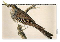 Yellow Browed Bunting Carry-all Pouch