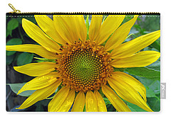 Yellow Burst Carry-all Pouch