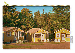 Yellow Cabins Carry-all Pouch