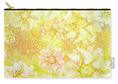 Yellow Camellia Hedges Carry-all Pouch