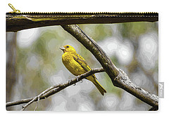 Yellow Canary Carry-all Pouch