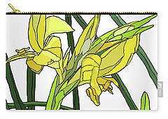 Yellow Canna Lilies Carry-all Pouch