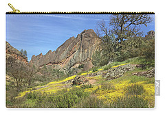 Carry-all Pouch featuring the photograph Yellow Carpet by Art Block Collections