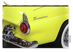 Yellow Classic Thunderbird Car Carry-all Pouch