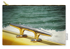 Yellow Cleat Carry-all Pouch by Valerie Reeves