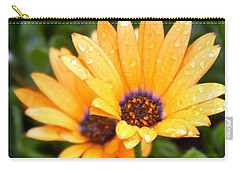 Yellow Colored Petals Carry-all Pouch
