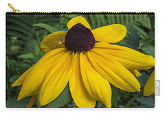 Yellow Coneflower Carry-all Pouch by Arlene Carmel