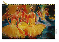 Yellow Costumes Carry-all Pouch