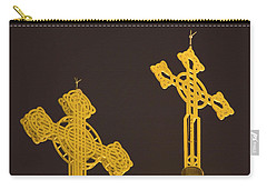 Yellow Crosses Carry-all Pouch