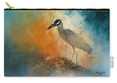 Yellow Crowned Night Heron Carry-All Pouches