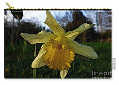 Carry-all Pouch featuring the photograph Yellow Daffodils 5 by Jean Bernard Roussilhe