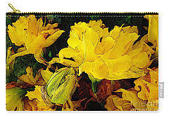 Yellow Daffodils 6 Carry-all Pouch