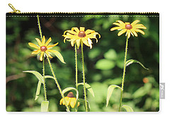 Yellow Daisies In The Sun Carry-all Pouch