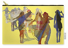 Yellow Dance Carry-all Pouch