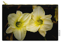 Yellow Day Lilies Carry-all Pouch