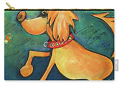 Yellow Dog Carry-all Pouch