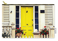 Carry-all Pouch featuring the photograph Yellow Door by Kendall McKernon
