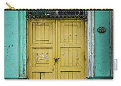 Yellow Doors Cuba Carry-all Pouch by Perry Webster