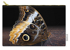 Yellow-edged Giant Owl Butterfly Carry-all Pouch