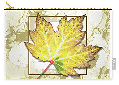 Yellow Fall Carry-all Pouch