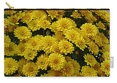 Yellow Fall Carry-all Pouch by Shirley Heyn
