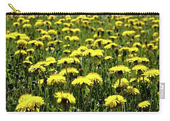 Yellow Field Two  Carry-all Pouch
