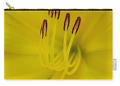Yellow Flower Beauty Carry-all Pouch