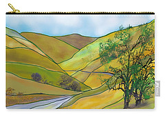 Yellow Foothills Carry-all Pouch