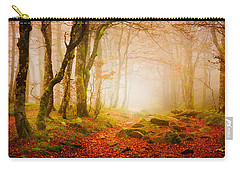 Yellow Forest Mist Carry-all Pouch