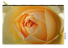 Carry-all Pouch featuring the photograph Yellow Graham Thomas Rose by Jocelyn Friis