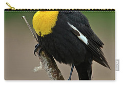 Yellow Headed Blackbird Carry-all Pouch