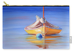 Yellow Hull Sailboat Iv Carry-all Pouch
