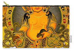Yellow Jambhala 3 Carry-all Pouch