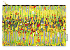 Yellow Jazz Carry-all Pouch
