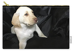 Yellow Lab Puppy Sadie Carry-all Pouch