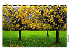 Yellow Leaves At Muckross Gardens Killarney Carry-all Pouch