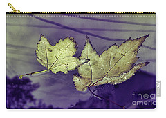 Yellow Leaves On  Windshield Carry-all Pouch