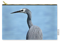Carry-all Pouch featuring the photograph Yellow Legs 01 by Kevin Chippindall