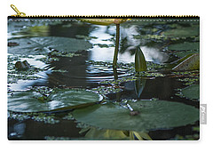 Yellow Lilly Tranquility Carry-all Pouch