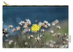 Yellow Carry-all Pouch by Martina Fagan