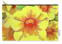 Yellow Million Bells Carry-all Pouch