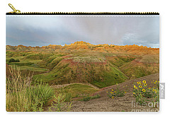 Yellow Mounds Morning Carry-all Pouch
