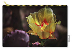 Carry-all Pouch featuring the photograph Yellow N Red by Elaine Malott