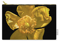 Yellow On Black Carry-all Pouch